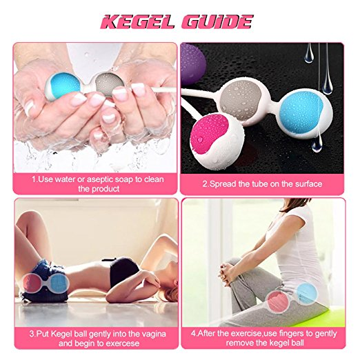 Kegel Exercise Weights Zaddic Ben Wa Kegel Balls Weighted Exercise Kit For Beginner Doctor